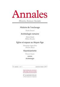 Annales. n° 1 (2017)