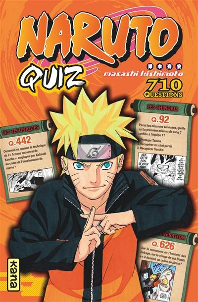 Naruto quiz : 710 questions