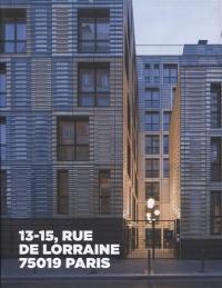 13-15, rue de Lorraine, 75019 Paris
