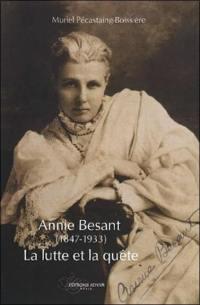 Annie Besant, 1847-1933