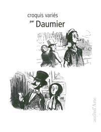 Croquis variés par Daumier