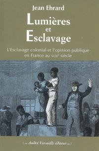 Lumières et esclavage : l'esclavage colonial et l'opinion publique en France au XVIIIe siècle