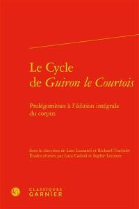 Le cycle de Guiron le Courtois