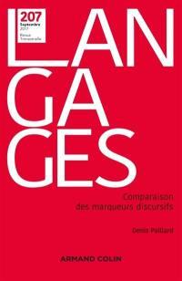 Langages. n° 207, Comparaison des marqueurs discursifs
