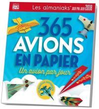 365 avions en papier : un avion par jour