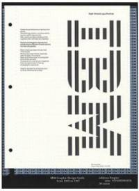 IBM : graphic design guide from 1969 to 1987