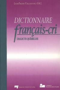 Dictionnaire français-cri