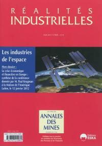 Réalités industrielles, Les industries spatiales