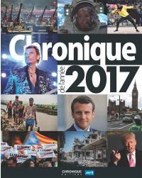 Chronique de l'année 2017