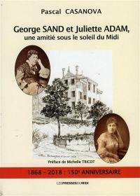 George Sand et Juliette Adam