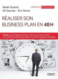 Réaliser son business plan en 48 h