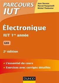 Electronique IUT 1re année : GEII