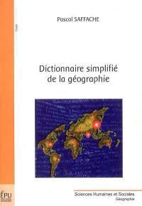 Dictionnaire simplifié de la géographie