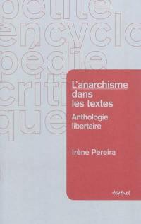 L'anarchisme dans les textes
