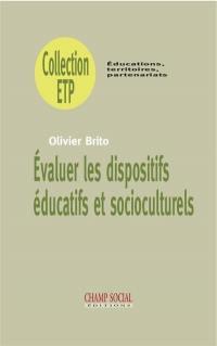 Evaluer les dispositifs éducatifs et socioculturels
