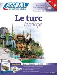 Le turc : débutants & faux-débutants, niveau atteint B2 : super pack