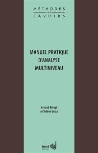 Manuel pratique d'analyse multiniveau