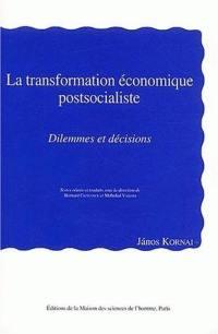 La transformation économique postsocialiste