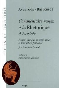 Commentaire moyen à la Rhétorique d'Aristote