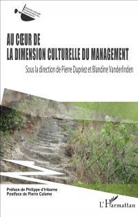 Au coeur de la dimension culturelle du management