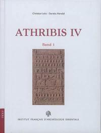 Athribis. Volume 4, Der Umgang L1 bis L3 : band 1 : text