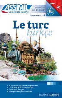 Le turc : débutants & faux-débutants : niveau atteint B2