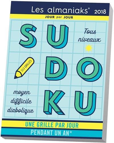 Sudoku 2018 : une grille par jour pendant un an