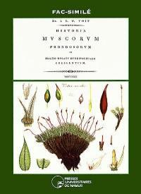 Historia muscorum frondosorum in magno ducatu herbipolitano crescentium (1812)