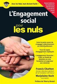 L'engagement social pour les nuls