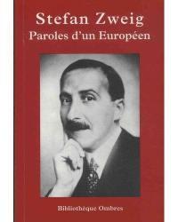Paroles d'un Européen