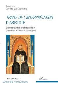 Traité de l'interprétation d'Aristote