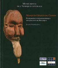 Masques géants du Congo