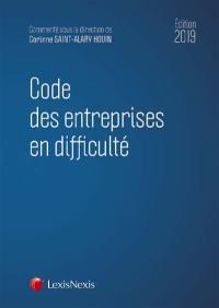 Code des entreprises en difficulté