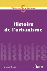 Histoire de l'urbanisme