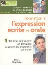 Formation à l'expression écrite et orale