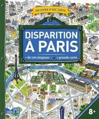 Disparition à Paris : un livre d'enquête