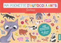 Ma pochette d'autocollants : animaux