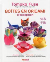 Boîtes en origami d'exception