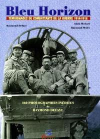Bleu horizon : témoignages de combattants de la guerre 1914-1918. Le familier de Jean Zay