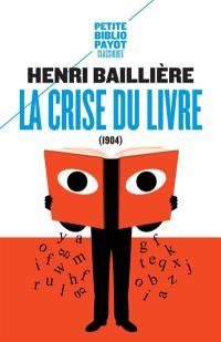 La crise du livre