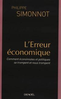 L'erreur économique