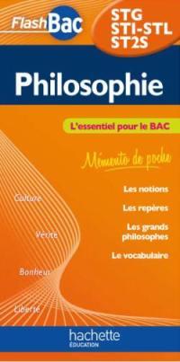 Philosophie STG, STI-STL, ST2S