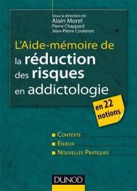 L'aide-mémoire de la réduction des risques en addictologie