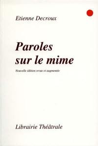 Paroles sur le mime