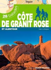 Côte de Granit rose : et alentour : 28 balades