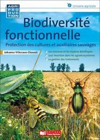 Biodiversité fonctionnelle : protection des cultures et auxiliaires sauvages