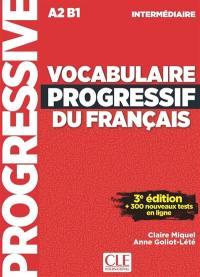 Vocabulaire progressif du français, A2-B1, intermédiaire