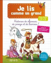 Histoires de chevaux, de poneys et de licornes !