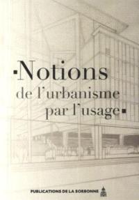 Notions de l'urbanisme par l'usage
