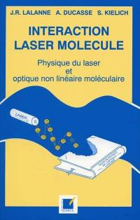 Interaction laser molécule
